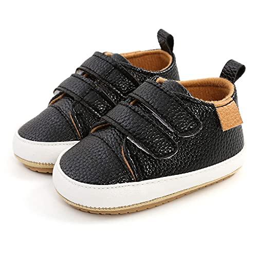 WAOUY Niño Bebé Niña Niño Lienzo Zapatos Suaves Suela Zapatillas Zapatillas De...