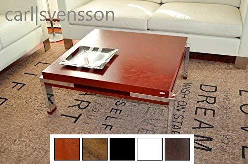 Design Couchtisch Tisch K-222 Kirschbaum Kirsche Chrom Carl Svensson