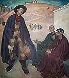 Berkin Arts Diego Rivera Giclée Leinwand Prints Gemälde