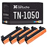 Pack 4 Toner Brother TN1050 Compatible 1000 copias - para Brother DCP-1510,DCP-1512,DCP-1610W,DCP-1612W,HL-1110,HL-1112,HL-1210W,HL-1212W,MFC-1810,MFC-1910,MFC-1910W