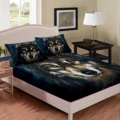 wolf bed sheets - 1