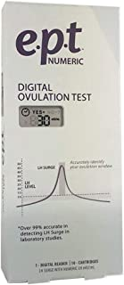 Nfi Consumer Products Ept Numeric Digital Ovulation Test Measures Lh Surges Numerically) Lh Numbers are Unique to You & Your Ovulation Window