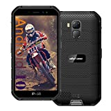Ulefone Armor X7 Pro (2021) Unlocked Rugged Phones, Android 10 Quad-core 4G+32GB ROM, 13MP+5MP Dual Camera 5.0 inch HD Screen 4000mAh Battery Rugged Smartphones, OTG, NFC, Face ID, GPS, WiFi -Black