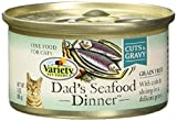Variety Pet Foods Home Style Grain Free Cat Food - Dad's Seafood Dinner - 24 X 3 Ounces