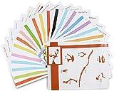 ohCome 20Pcs Modelos de papel 3D para Niños Adulto Juegos en Práctica de 3D...