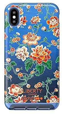 Tech21 EVO Luxe Liberty Grace - Carcasa para Apple iPhone XS MAX, Color Azul