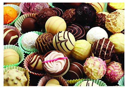 YHKTYV Bola De Helado De Chocolate Rompecabezas De Madera Desafío Cerebral De 35 Piezas para Niños Rompecabezas De Juguete De Descompresión Regalo Desmontable