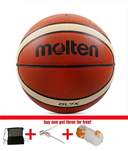 Buy Discount SUPERLONG Brand GG7X Official Basketball Ball Men Indoor/Outdoor Gas Needles and Net Ba...
