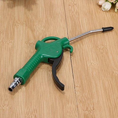 Xligo - Pistola de plástico con mango de aire para eliminar el polvo, pistola neumática, herramienta de limpieza de aerógrafo