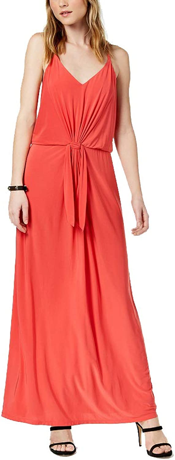 Bar III TieWaist Maxi Dress