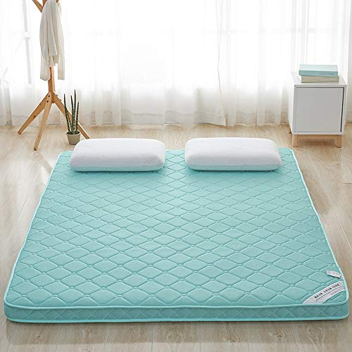 smzzz Home Decoration Accessories Memory Foam Mattresses Topper Water Green 4D Bamboo Charcoal Stereo 6CM Bedding Comfortable Breathable Mattress