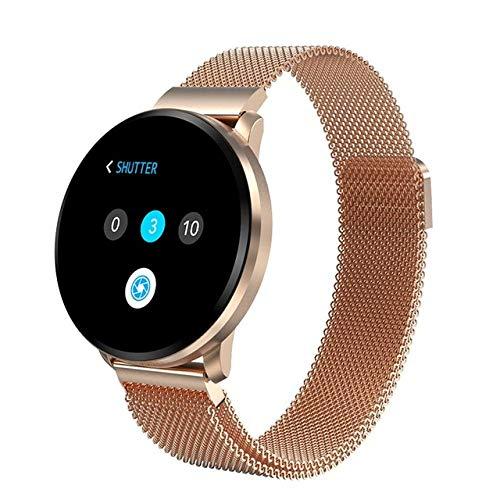 MOLINB Slim horloge IP67 Waterdicht Smart Watch CF68 Heren Bloeddruk Sport Dames Volledig scherm Touch Smartwatch Hartslag Slimme armband