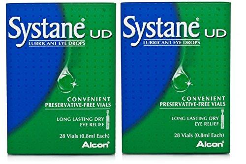 Systane Augentropfen, Ampullen frei von Konservierungsstoffen, 28x 0,8ml, Doppelpackung