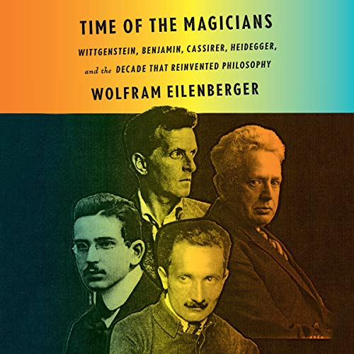 Time of the Magicians audiobook cover art