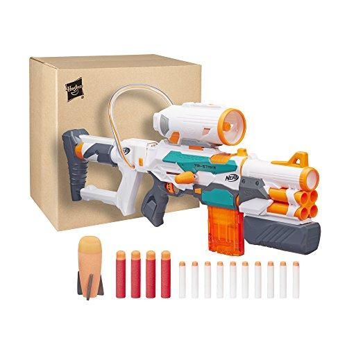 Nerf Hasbro b5577F03–Modulus Blaster–Tri de Strike