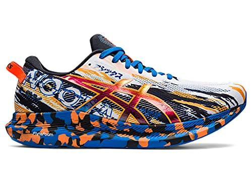 ASICS Men s Noosa TRI 13 Running Shoes  9  White/Shocking Orange