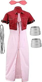 CosplayLife Final Fantasy VII Advent Children Aerith Gainsborough Cosplay Costume