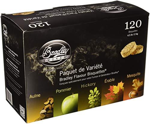 Bradley Technologies Smoker Bisquettes 5 Geschmacksrichtungen, 120 Stück