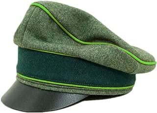 WW2 German Heer Wool Mountainer Crusher Visor Cap