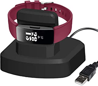 Aresh Compatible with Fitbit Inspire HR Charger, with 3(ft) USB Cable Charger Stand Dock Station for Fitbit Inspire HR/Fitbit Inspire Fitness Tracker