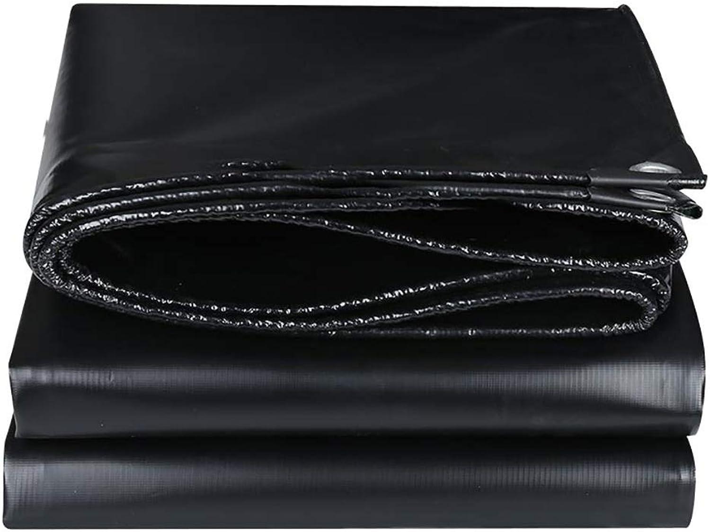 Hfspb Wasserdichtes Planenschwarz-PVC-Messer, Das Tuchauto-LKW Wasserdichtes Tuch-500g   M2 Abstreift
