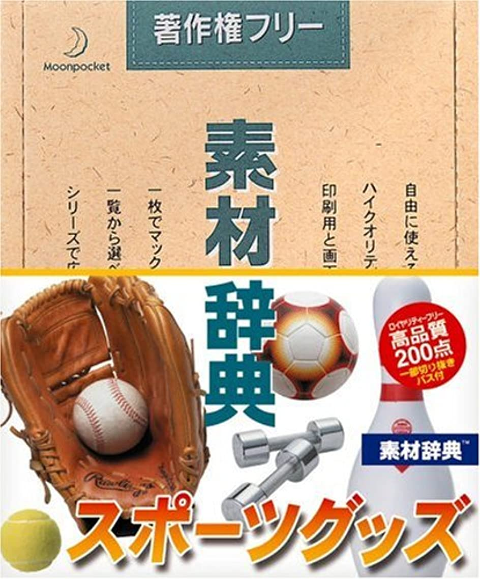 大きなスケールで見るとウェイド意気揚々素材辞典 Vol.108 スポーツグッズ編