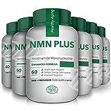 Cápsulas NMN, 300 mg, 60 cápsulas, aumentan naturalmente los niveles de NAD, suplemento de mononucleótido de nicotinamida, prueba de terceros (6 botellas)