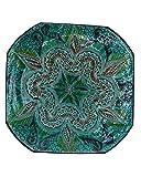 Etnico 0506191255 - Plato de Centro de Mesa de cerámica para Pared, decoración árabe marroquí