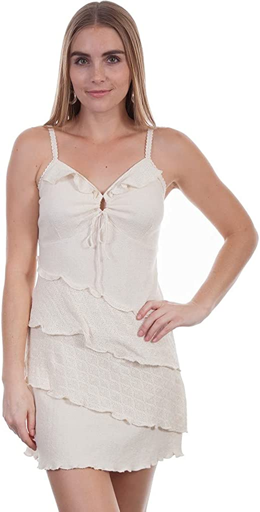 Popular shop is the Beauty products lowest price challenge Scully Western Dress Womens Sleeveless F0_PSL-21 Natural Layered