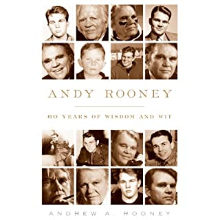 Andy Rooney audiobook cover art