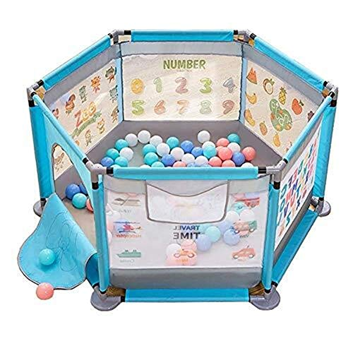 Hfyg Play Pen Baby Playpen Safe Play Barrier Compact Foldable Best Kids Play Pen pens
