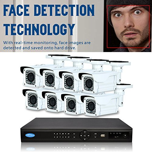 Best Review Of OwlTech 16 Channel Face Detection NVR up to 5MP Resolution + 8 x 4MP 2.8-12mm IP Bull...