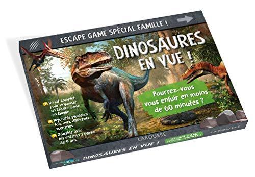ESCAPE GAME spécial famille Dinosaures en vue