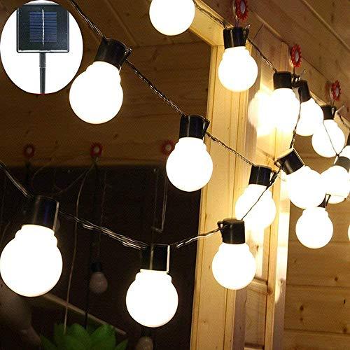 Luces de Cadena de Jardín Solar,4M 10LED Luces de Cadena Solares al Aire Libre Impermeables para Exteriores, Jardín, Navidad