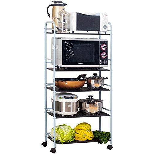 Étagères BOBE Shop de Cuisine chaudière à Micro-Ondes étage Cinq ustensiles de Cuisine Rangement de Rangement