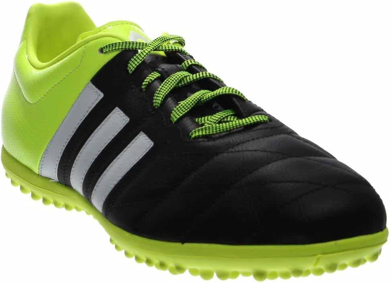 Adidas ACE 15.3 TF Leather [CBLACK FTWWHT Syello]
