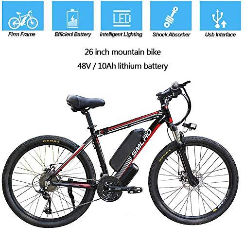YDBET Bicicleta eléctrica para Adultos, MTB eléctrica, Bicicletas de Ebike extraíbles de...
