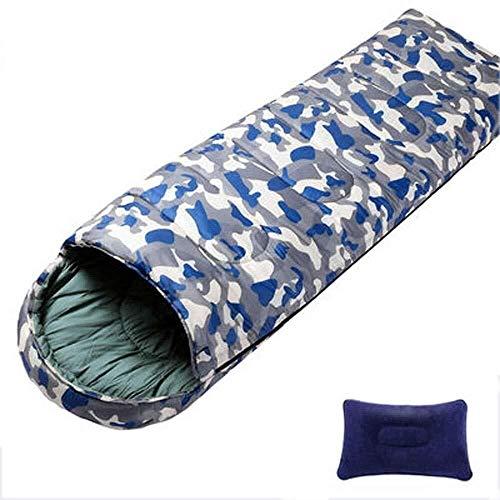 BABY Printemps Eté Sac de Couchage Camping en Plein air Randonnée Enveloppe Militaire Respirant Adulte (Size : 1.1kg)