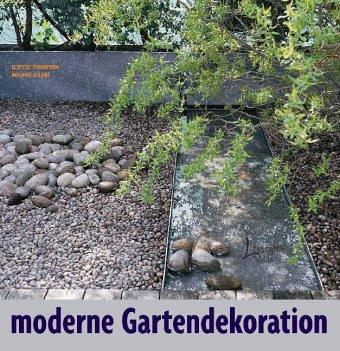 Moderne Gartendekoration