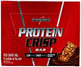 Protein Crisp Bar - 12 Unidades 45g Trufa Avelã - IntegralMédica, IntegralMedica