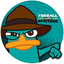 Agent P {Phineas & Ferb} Edible Cupcake Toppers Decoration