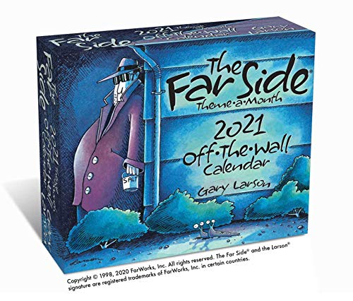 The Far Side® Theme-a-Month 2021 Off-The-Wall Calendar