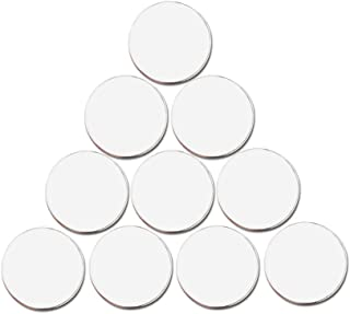 PINMEI Blank Golf Ball Marker in 24mm, Suit for Custom Printing, Pack of 20