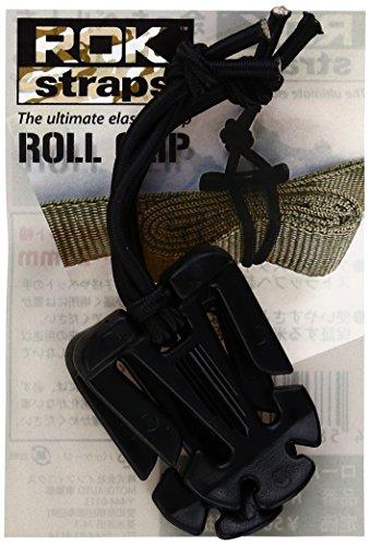 ROK straps (ロックストラップ) ロールクリップ(2コイリ) ブラック ROKRC01
