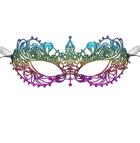 LOVINSHOW Luxury Masquerade Mask Womens Lace Eye Mask