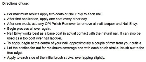 Beauty Shopping OPI Nail Envy Nail Strengthener, Nail Treatment, 0.5 Fl oz