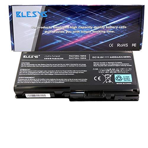BLESYS PA3729U-1BAS PA3729U-1BRS PA3730U-1BAS PA3730U-1BRS Laptop Akku kompatibel mit Toshiba Qosmio X500 X505 Toshiba Satellite P500 P505 P505D Serie Notebook