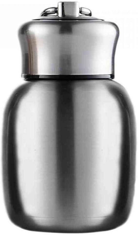 Taza de vac/ío de Viaje Mini Frasco de vac/ío de Acero Inoxidable para ni/ños Botella de Agua port/átil al Aire Libre