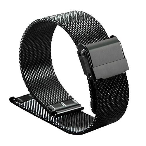 Vococal Cinturino Orologio per DW Compatibile per DW Daniel Wellington 18mm 20mm Accessori per Orologi Nero