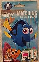 [ディズニー]Disney Finding Dory Matching Colors & Shapes Flash Cards [並行輸入品]